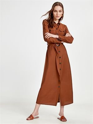 Kusakli Uzun Gomlek Elbise 9sj713z8 M7m Lc Waikiki Gomlek Elbise Elbise Manto