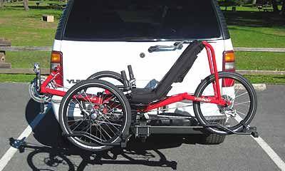 Recumbent Tadpole And Delta Trike Racks Trike Bicycle Trike Recumbent Bicycle