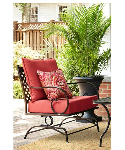 Garden Treasures Yorkford Set Of 2 Steel Conversation Chairs With Slat Seat Lowes Com Patio Chairs Outdoor Chairs Outdoor Living Room