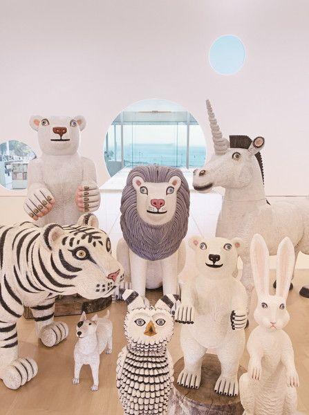 三沢厚彦 Animals In Yokosuka アートデザイン 美術館 インスピレーションあふれるアート