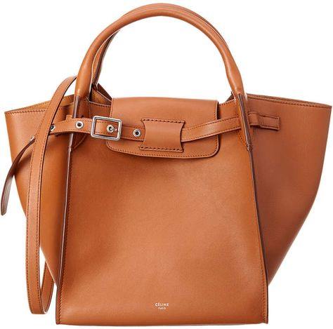 e5a7663c8852 Celine Small Big Bag Leather Tote