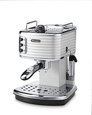 Delonghi Scultura Ecz351w Traditional Pump Espresso Machine