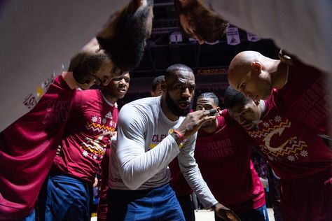 LeBron James Photos Photos - LeBron James #23 of the Cleveland