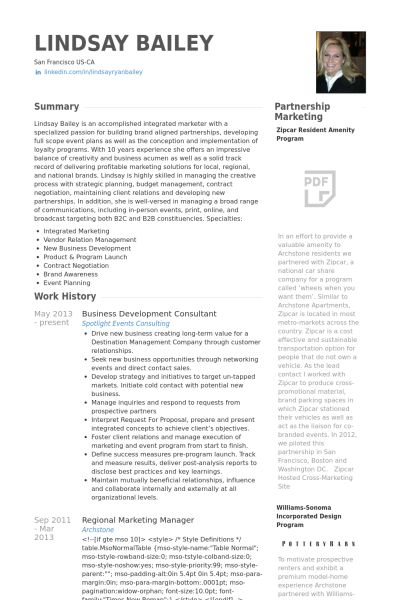 business development consultant Resume Example Business Tools - business development resumes