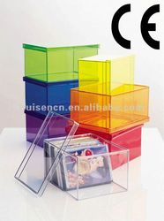 Decorative Plastic Storage Boxes With Lids Acrylic Storage Boxplastic Collection Boxdecorative Storage