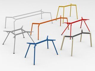 Shop Modulor M Table System Coloured Online At Modulor Colorful Table Table Frame Simple Table