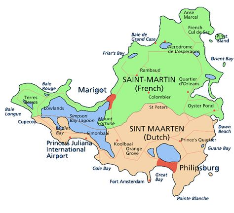 St Martin On World Map.St Martin Beaches Idyllic French Beaches Shiotatsu Pinterest
