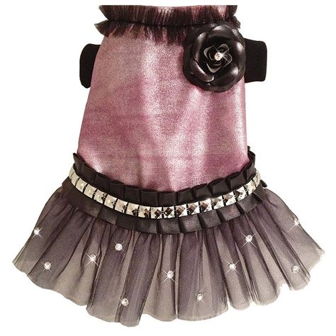 lady lux designer dog dress: BitchNewYork.com - Provides Designer Dog Products such as Collars, Clothes, Beds, and Crates