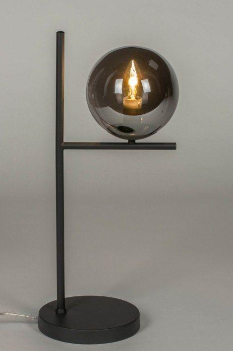 Tafellamp 13261 Modern Retro Art Deco Glas Retro Art Deco Modern Retro Lamp