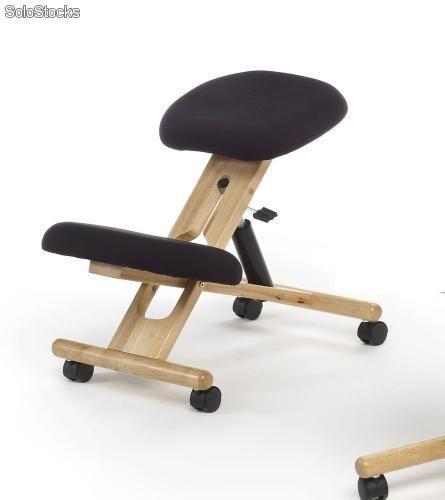 silla oficina ergonomica rodillas