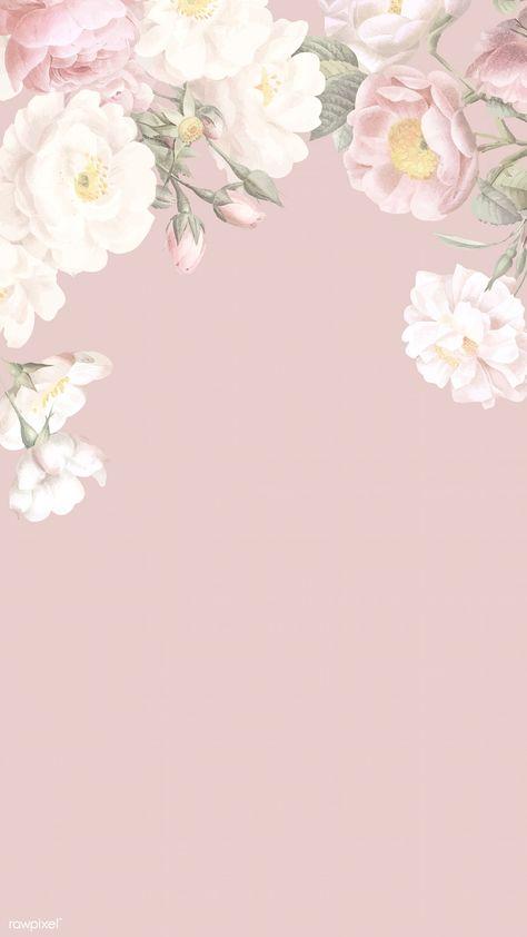 Elegant floral frame design vector   premium image by rawpixel.com / Donlaya / ploy / manotang