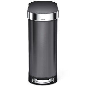 Simplehuman 13 Gallon Step On Trash Can Kitchen Trash Cans Trash Can Trash Cans