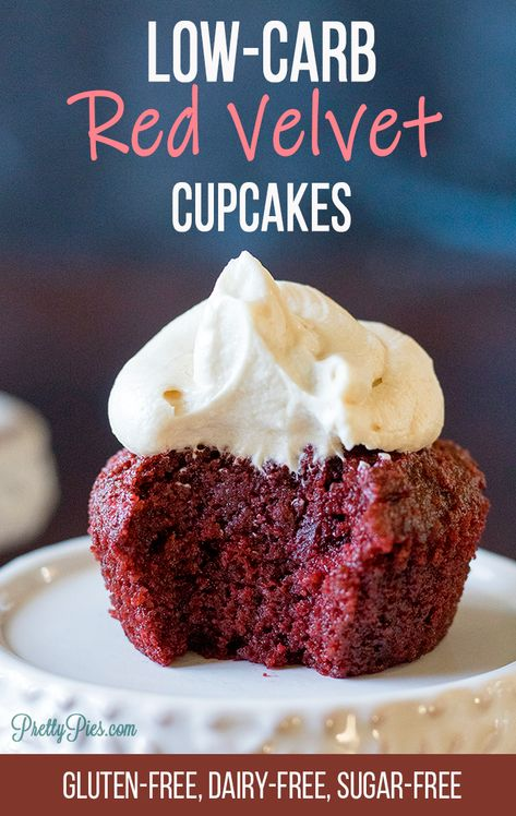 Low Carb Red Velvet Cupcakes Recipe Dairy Free Low Carb Dairy