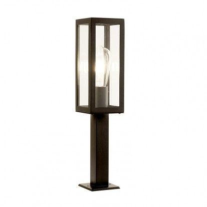 Searchlight Box Outdoor Pedestal Light