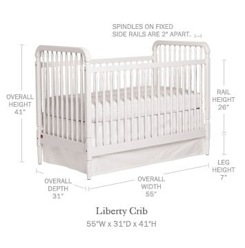 quality design ad7fa 9536e Liberty Crib - Serena & Lily | Nursery | Cribs, Toddler ...