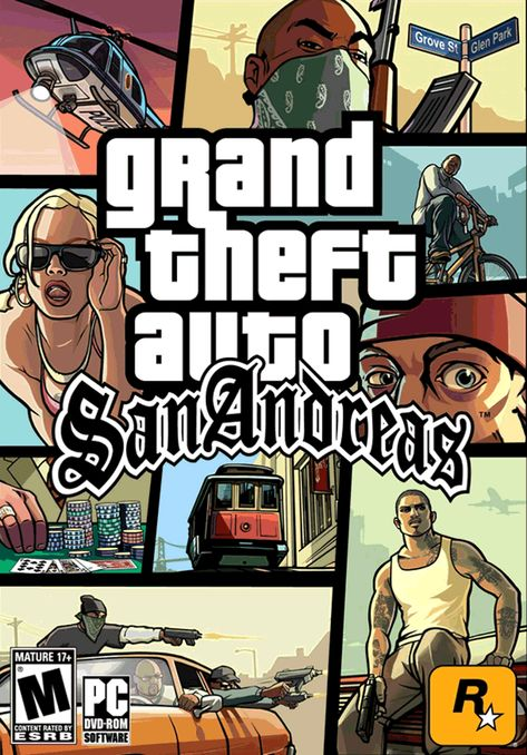 Baixedaki Downloads: GTA San Andreas PC completo Download