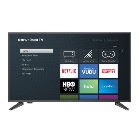 Onn 40 Class 1080p Fhd Roku Smart Led Tv 100005395 Walmart Com Led Tv Smart Tv Roku