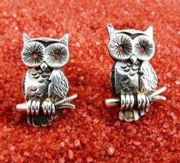 owl cufflinks by beaujangles on Etsy (Accessories, Suit & Tie Accessories, Cuff Links & Tie Clips, Cuff Links, men, beaujangles, owl, cufflinks, birthday, fathersday, christmas, french cuff, moe)