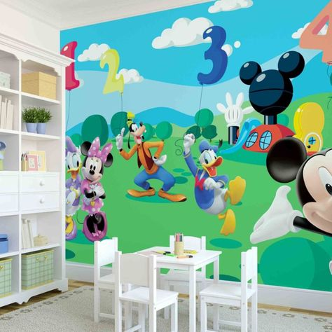 Mickey Mouse Clubhouse Capers XL Wallpaper Mural 10.5u0027 X 6u0027 | Mickey Mouse  Clubhouse, Clubhouses And Wall Murals Part 67