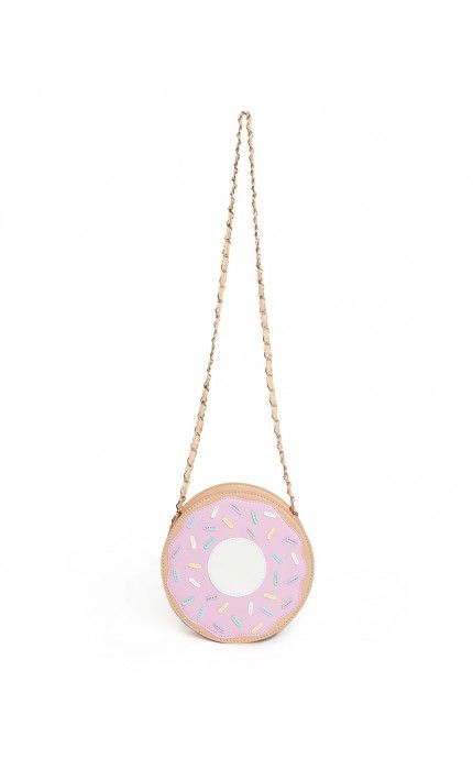 Pinup Girl Clothing- Donut Purse in Pink | Pinup Girl Clothing