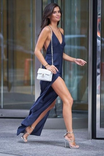 Elegant navy dress for formal evening #ShopStyle #ssCollective #MyShopStyle #ootd #summerstyle #fallfashion #ShopStyleFestival #lookoftheday  #todaysdetails #getthelook #shopthelook #wearitloveit