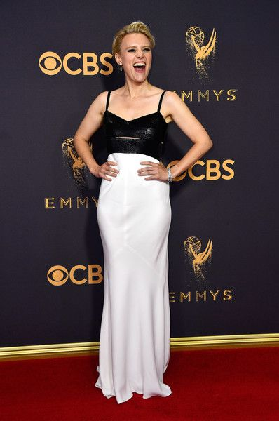 Actor Kate McKinnon attends the 69th Annual Primetime Emmy Awards at Microsoft Theater.