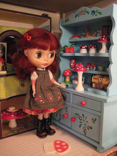 Petunia Klausdottir Gentle River S World 013 Doll Furniture Blythe Dolls Petunias