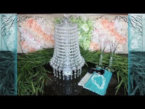 Youtube Christmas Decorating Ideas 2020 Tiffany Chandeliers Dollar Tree Lighted Chandelier 2.0 | Breakfast at Tiffany's