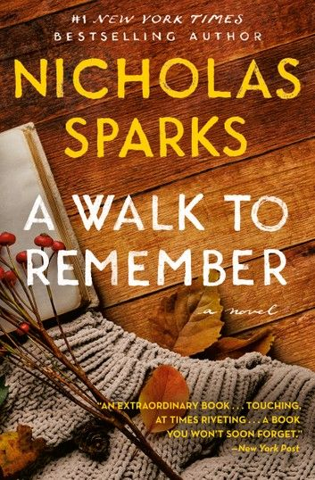 A Walk To Remember Ebook By Nicholas Sparks In 2020 Nicholas