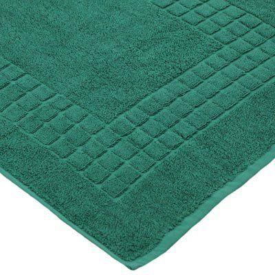 Linens Limited Supreme 100 Egyptian Cotton Bath Mat Dark Green