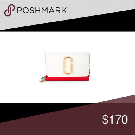56f93799c98cc 🎈🎈Marc Jacob SNAPSHOT CHAIN WALLET A wallet that as your go-to