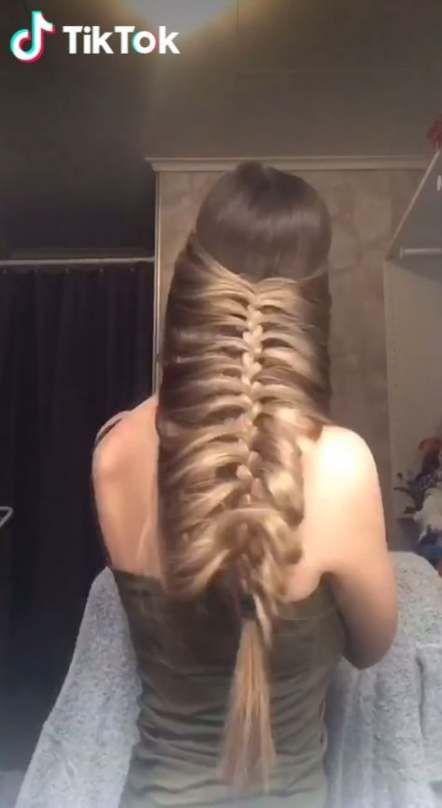 50 Trendy Ideas Hair Styles Tutorial Tik Tok Hair Videos Hair Braid Videos Long Hair Video