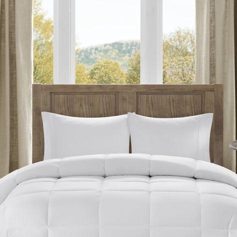 Madison Park Winfield 300TC Luxury Down Alternative Comforter Designer Living