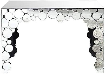 Konsolentisch Spiegelglas.Extravagante Konsole Redondo Mit Runden Spiegeln Tisch