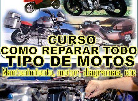 Manual De Reparacion Completa De Motos De Toda Marca En Pdf Con