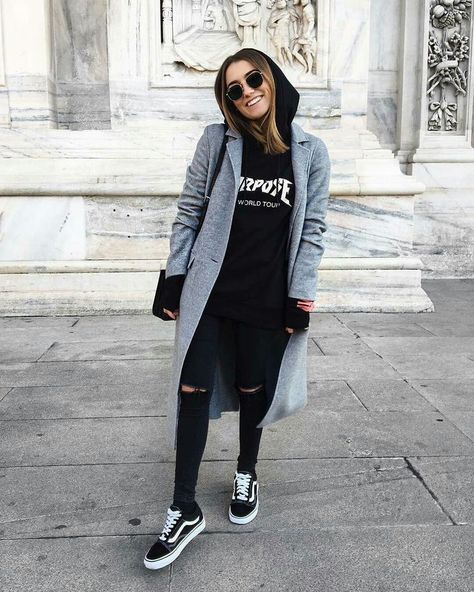 For really trippy cold days wear a hoodie under a blazer! - For really trippy cold days wear a hoodie under a blazer! einen For Hoodie Hosenb -