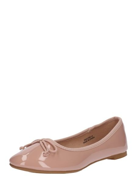 db9ea1d448c970 NEW LOOK Ballerina  PRUNELLA  nude  schuhe  fashion  shoes  ballerinas