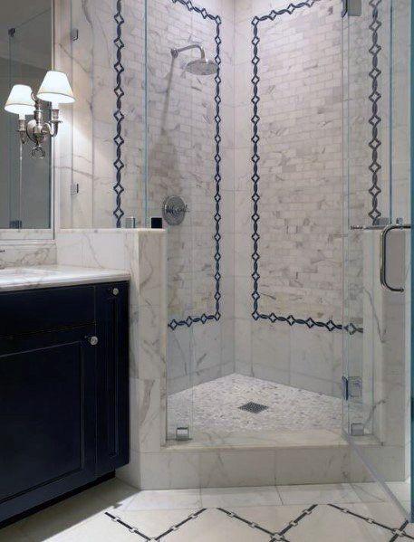 Top 60 Best Corner Shower Ideas Bathroom Interior Designs Corner Shower Small Bathroom Bathroom Layout