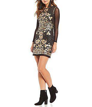 ee233204e3 Shop for Gianni Bini Kim Geometric Sequin Dress at Dillards.com. Visit  Dillards.com to find clothing