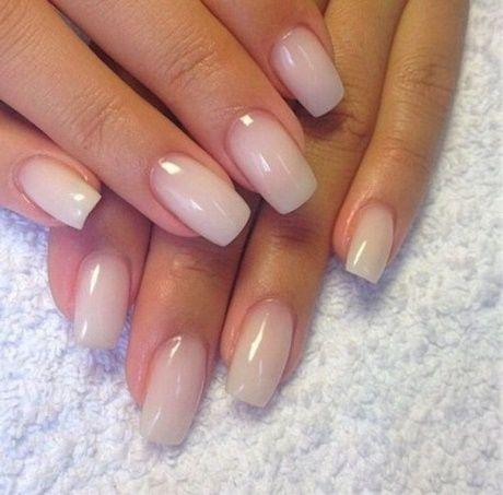 Acrylnagel Naturlich Rosa Mit Bildern Milky Nails Nagelpflege