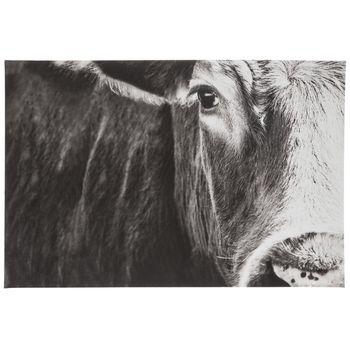 Black White Cow Face Canvas Wall Decor Hobby Lobby 1786789 In 2020 Black And White Wall Art Cow Art Cow Pictures
