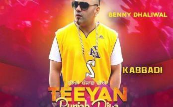 Kabbadi Benny Dhaliwal Mp3 Song Download 320kbps Mp3 Song Download Mp3 Song Songs