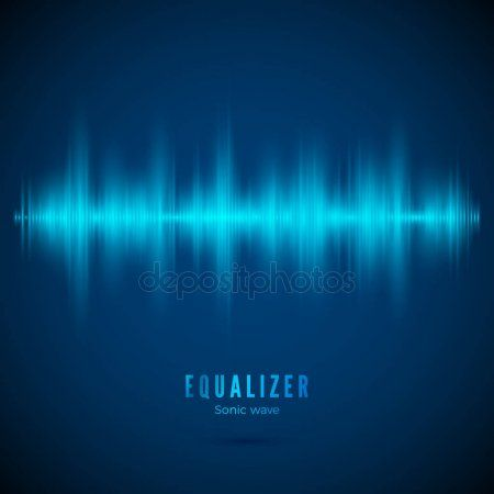 Equalizer. Music wave. Abstract digital audio track. Pulse of voice signal. Desi , #affiliate, #Abstract, #digital, #wave, #Equalizer #AD