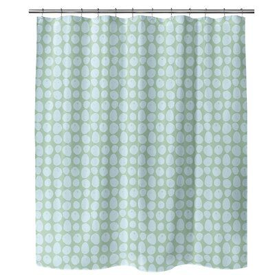 Ebern Designs Suchitra Single Shower Curtain In 2020 Blue Shower