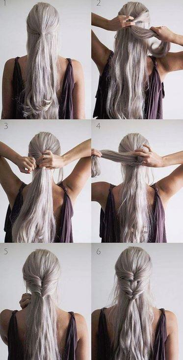 Schnelle Haar Hacks 6 Einfache Frisuren Fur Faule Und Langschlafer