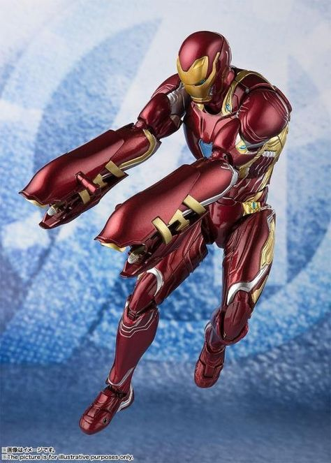 Tamashii Nations S.H. Figuarts: Avengers: Endgame - Iron Man Mk50 With Nano Weapon Set #2