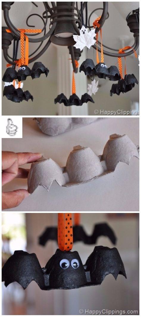 Easy DIY Halloween Decorating Ideas & Projects Tutorials