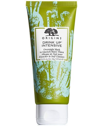 Origins Drink Up Intensive Overnight Mask To Quench Skin S Thirst 3 4 Fl Oz Reviews Skin Care Beauty Macy S Origins Drink Up Overnight Mask Coconut Oil Uses