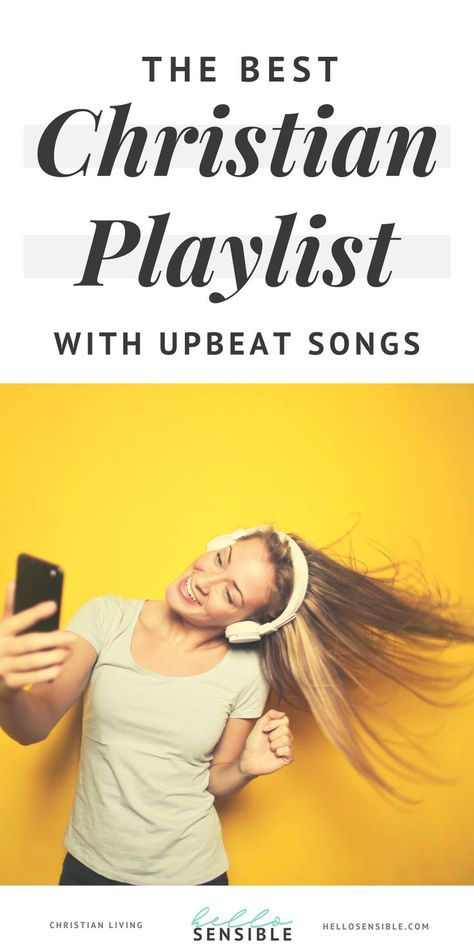 The best Christian playlist with upbeat songs Looking for a playlist of clean, upbeat music for your Christian Workout Songs, Christian Music Playlist, Christian Songs List, Christian Friends, Christian Resources, One Song Workouts, Studio Workouts, Running Songs, Running Tips
