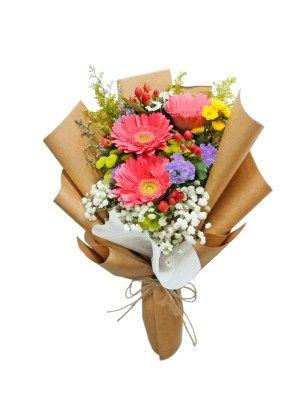 Gerbera Daisy Bouquet Same Day Delivery Flowers And Kisses In 2020 Gerbera Daisy Bouquet Daisy Bouquet Gerbera Daisy